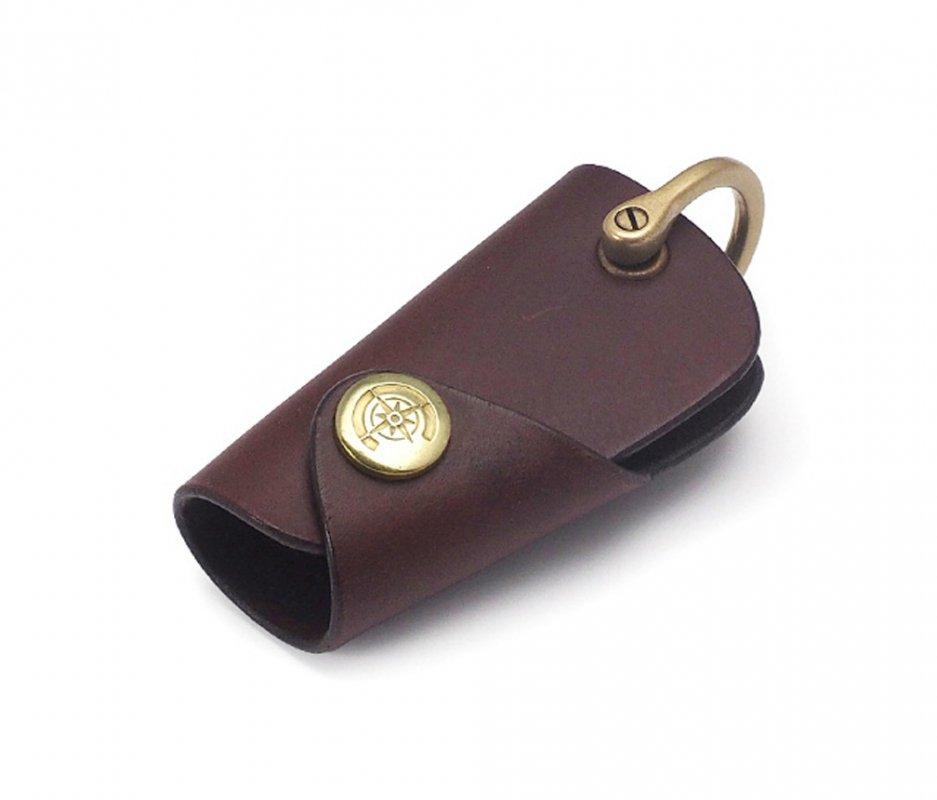 ボタンフックキーケース (リスシオ) [ブラウン] / Button Hook Key Case [BROWN]