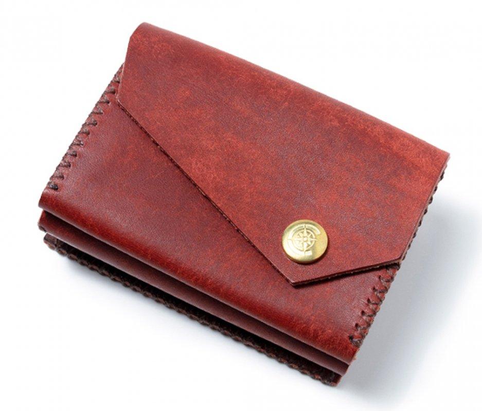三つ折り財布 [レッド] / Mini Wallet [RED]