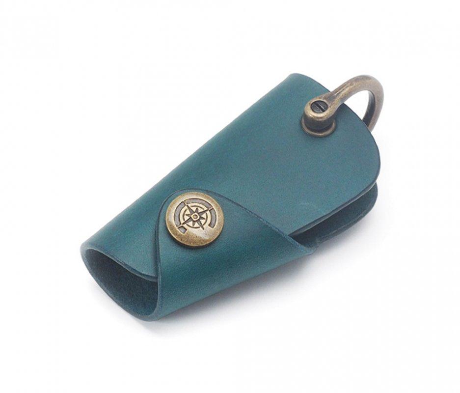 ボタンフックキーケース (リスシオ) [ブルー] / Button Hook Key Case [BLUE]