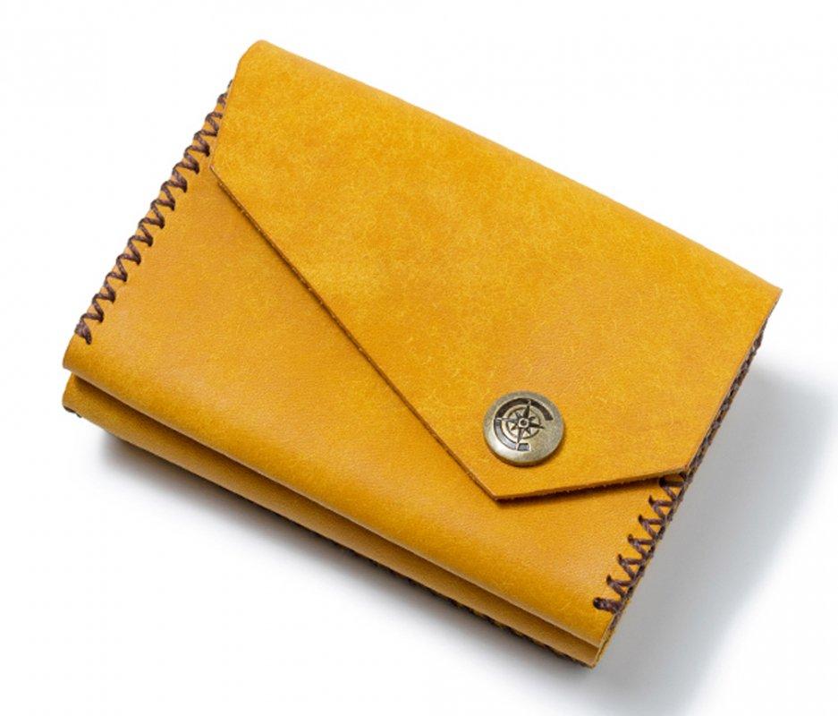 三つ折り財布 [イエロー] / Mini Wallet [YELLOW]