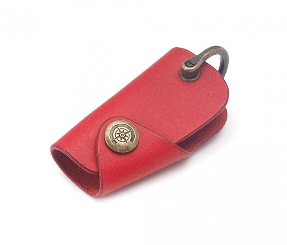 ボタンフックキーケース (リスシオ) [レッド] / Button Hook Key Case [RED]