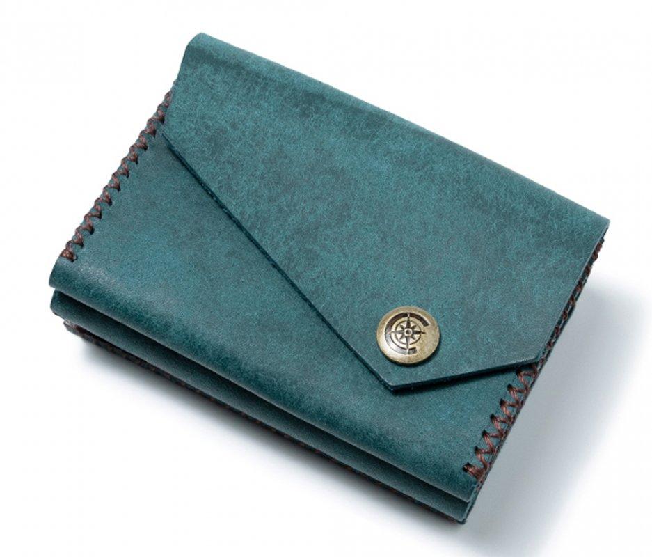三つ折り財布 [ブルー] / Mini Wallet [BLUE]