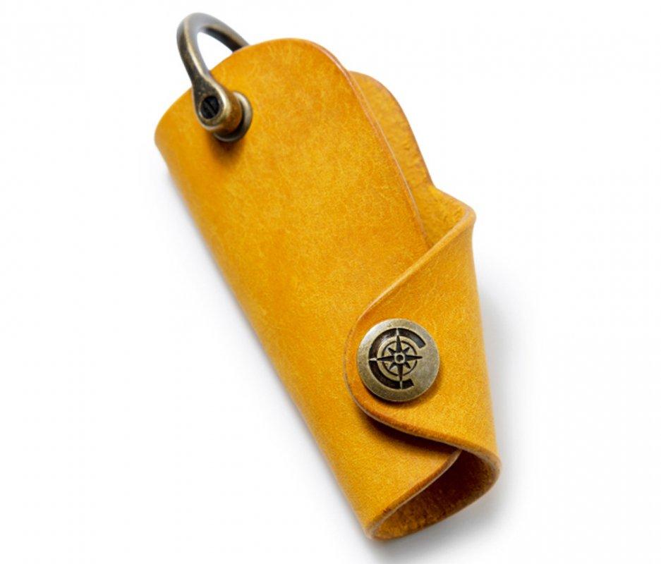 ボタンフックキーケースL [イエロー] / Button Hook Key Case L [YELLOW]