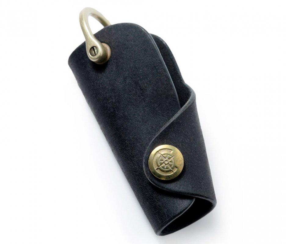 ボタンフックキーケースL [ブラック] / Button Hook Key Case L [BLACK]