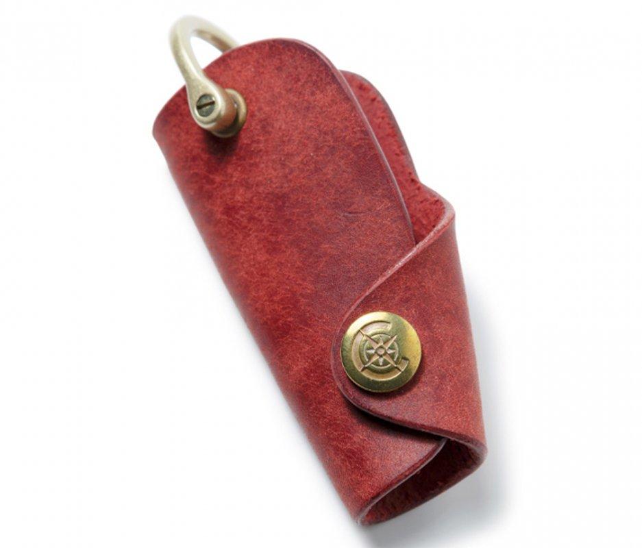 ボタンフックキーケースL [レッド] / Button Hook Key Case L [RED]