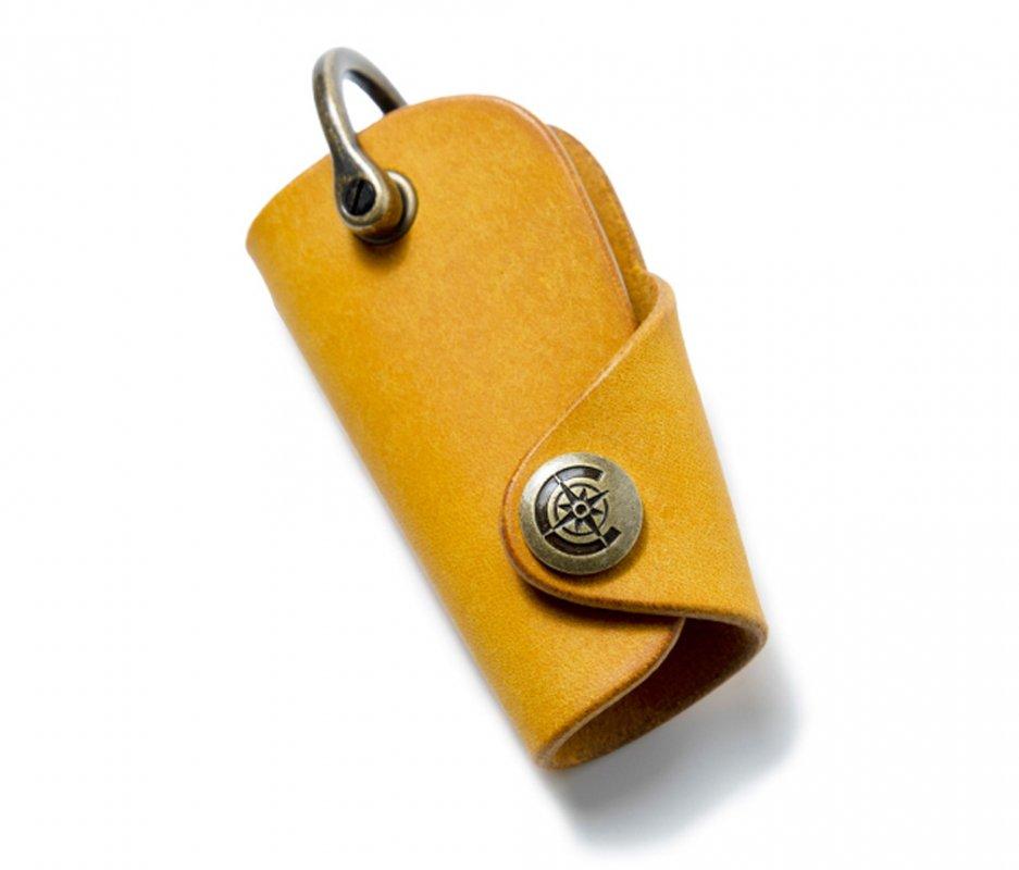 ボタンフックキーケースS [イエロー] / Button Hook Key Case S [YELLOW]