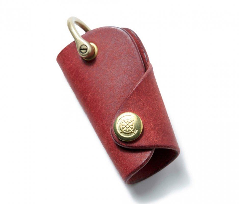 ボタンフックキーケースS [レッド] / Button Hook Key Case S [RED]