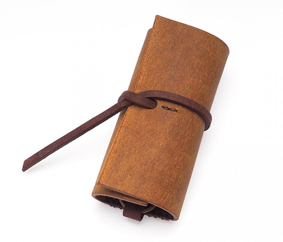 ロールキーケース [キャメル] / Roll Key Case [CAMEL]