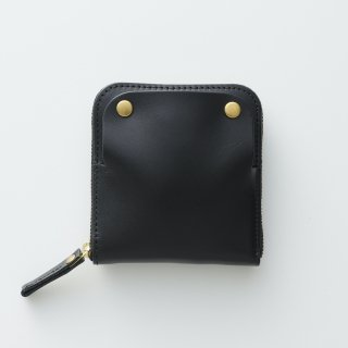 S m o o t h|路地入ル(黒)|スムースレザー|特許取得|スマートキー・財布・キーケースがほぼ全部入る本革ケース