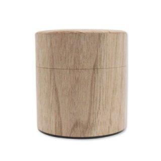 木のNuku森缶 平型 ウォールナット 平型100g