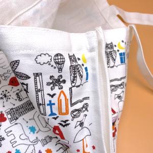 トートバック /  フレンズ   / by  Lotta Kuhlhorn  /  スウェーデンの本屋から  /  絶対オススメ  / 限定トートバッグ