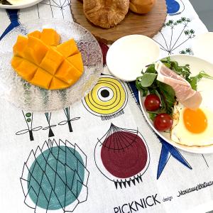 北欧キッチンタオル /  ピクニック /   byアルメダールス