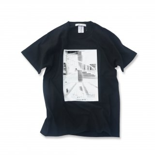 STAIRS フォトプリント Tシャツ spiral stairs