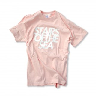 STAIRS スクエアロゴ Paint Tシャツ