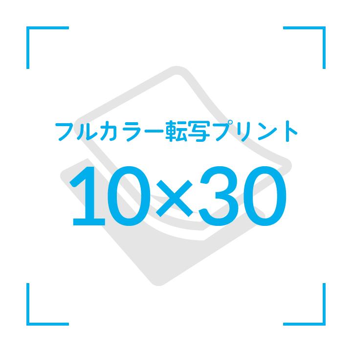 カラー転写プリント    デザイン10cmx30cm                       51枚〜
