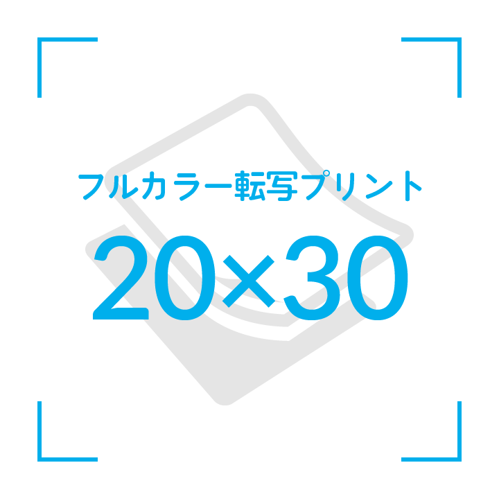 カラー転写プリント    デザイン20cmx30cm                       51枚〜