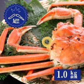 ズワイガニ足折れ 3番ガニ(1.0kg前後)
