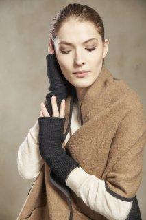 ベビーアルパカ 手袋 SIMPLE GLOVES 黒