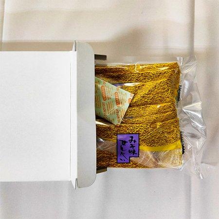 みそ味せんべい 箱入り(12袋24枚)