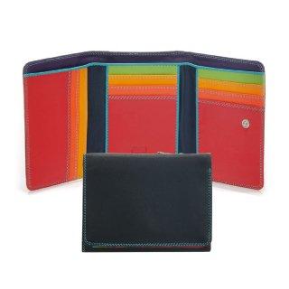 Medium Trifold Wallet Black Pace<br>3つ折ウォレット/ブラックペース