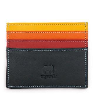 Small Credit Card & ID Holder<br>カードホルダー/ブラックペース