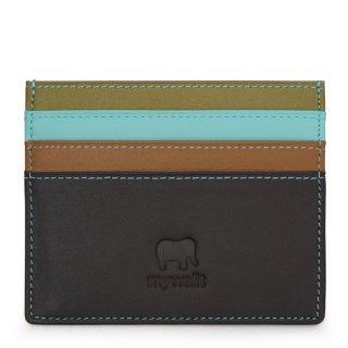 Small Credit Card & ID Holder<br>カードホルダー/チョコレートムース