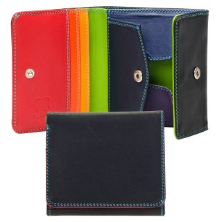 Folded Wallet With Tray Purse<br>コインパースつき2つ折ウォレット/ブラックペース