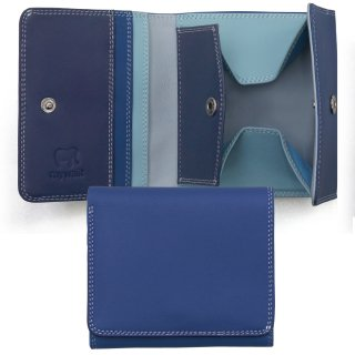 Folded Wallet With Tray Purse<br>コインパースつき2つ折ウォレット/デニム
