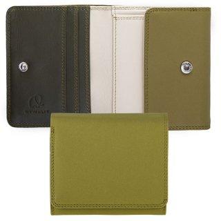 [海外取寄せ品]<br>Folded Wallet With Tray Purse<br>コインパースつき2つ折ウォレット/オリーブ