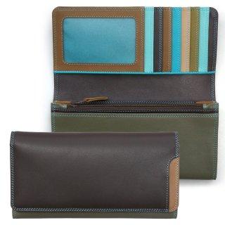 Plus-1 Medium Matinee Purse Wallet<br>Plus-1 長財布/チョコレートムース