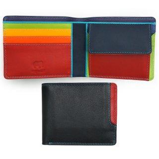 Plus-1 Standard Wallet w/Box Coin Pocket<br>Plus-1 2つ折財布/ブラックペース