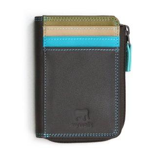 Plus-1 Zip Purse Card Holder<br>Plus-1 ジップパース/チョコレートムース
