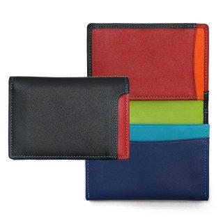Plus-1 Name card credit card pouch<br>Plus-1 名刺入れ&クレジットカードホルダー/ブラックペース
