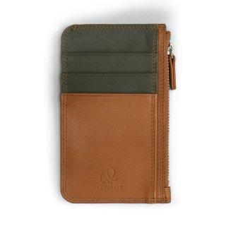 Slim Minimal Wallet<br>スリムミニマルウォレット/タン・オリーブ
