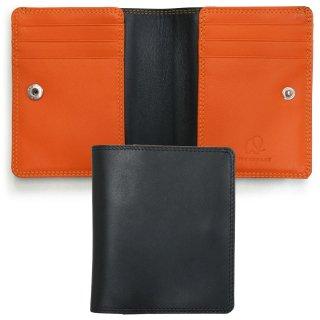 Slim Wallet<br>スリムウォレット/ブラック・オレンジ