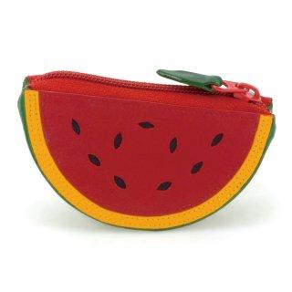 Fruits Watermelon Purse<br>スイカパース/レッド・グリーン