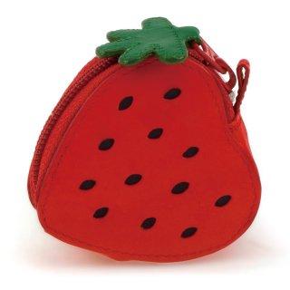 Fruits Strawberry Purse<br>ストロベリーパース/レッド