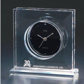 D75-01<br>光学ガラス製電波置時計