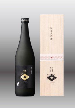 角の井  純米大吟醸〈木箱付〉 15度  720ml