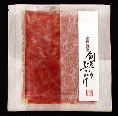 福岡県産 剣先いかぶっかけ100g