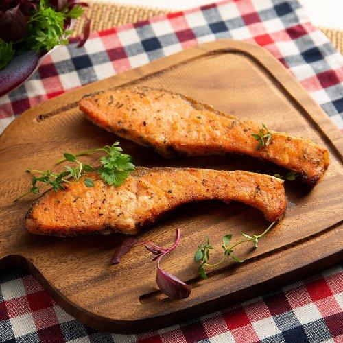 銀鮭 七種のハーブ&スパイス ムニエル(2切)