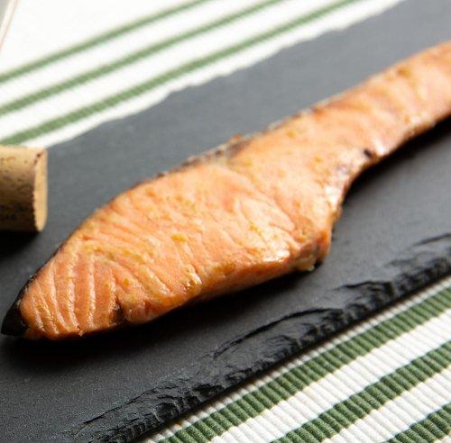 銀鮭柚子こしょう焼(2切)
