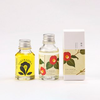桜島のつばき油2種のブレンドセット