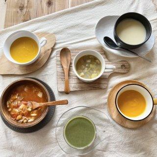 真心こめた贅沢野菜スープ 3種