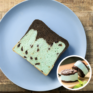 【メルマガ会員限定】512 チョコミント食パン+チョコミントバターサンド2個プレゼントの商品画像