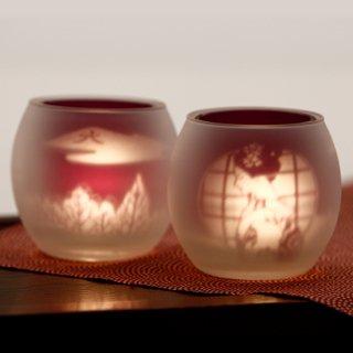 京都シルエットグラス