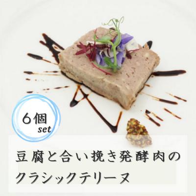 豆腐と合い挽き発酵肉のクラシックテリーヌ 6個セット