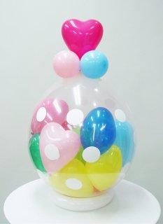 スパークバルーン卓上型 ハートmini balloonランダム組