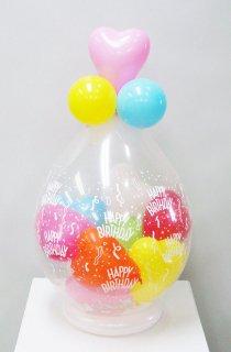 スパークバルーン卓上型 ハートmini balloon赤黄白青