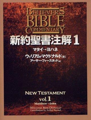 新約聖書注解 第1巻